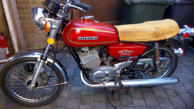 1976 Suzuki GT250