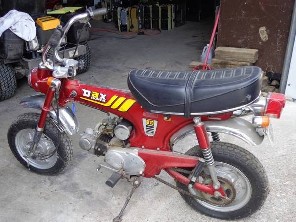 1981 Honda ST70K3 GENERAL EXPORT