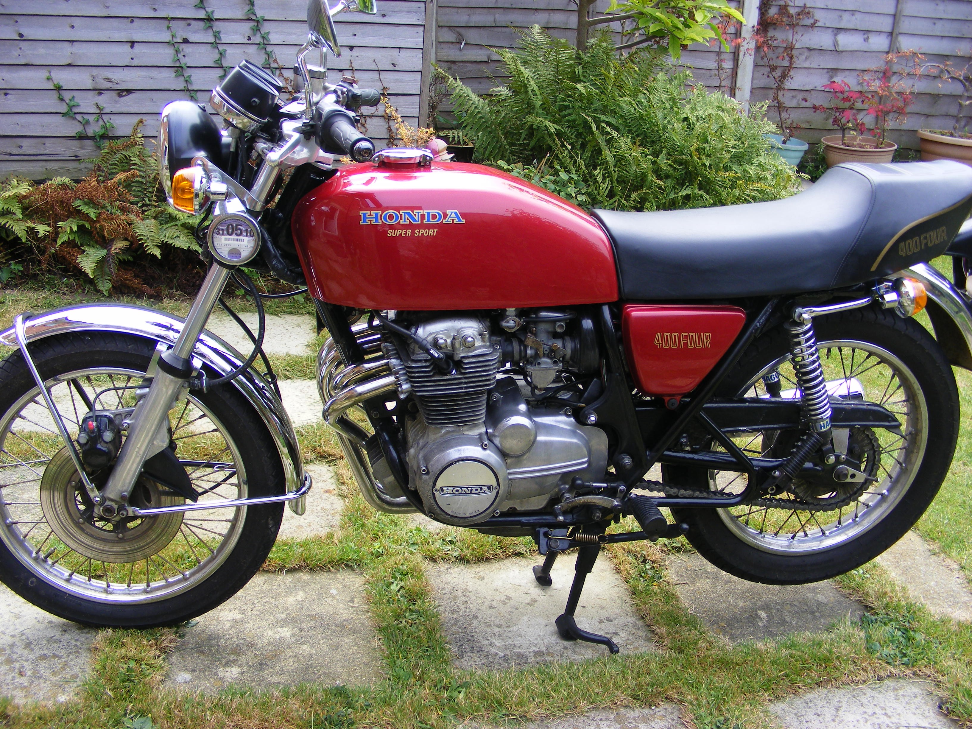 Honda Cb4004 F2 1977 From Jodonut99 Ct70 Wiring Diagram Cb400 4