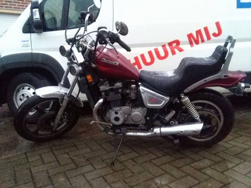 1985 Kawasaki EN450A1 LTD450 1985 EUROPE FR UK FG IT NR   LIQUID
