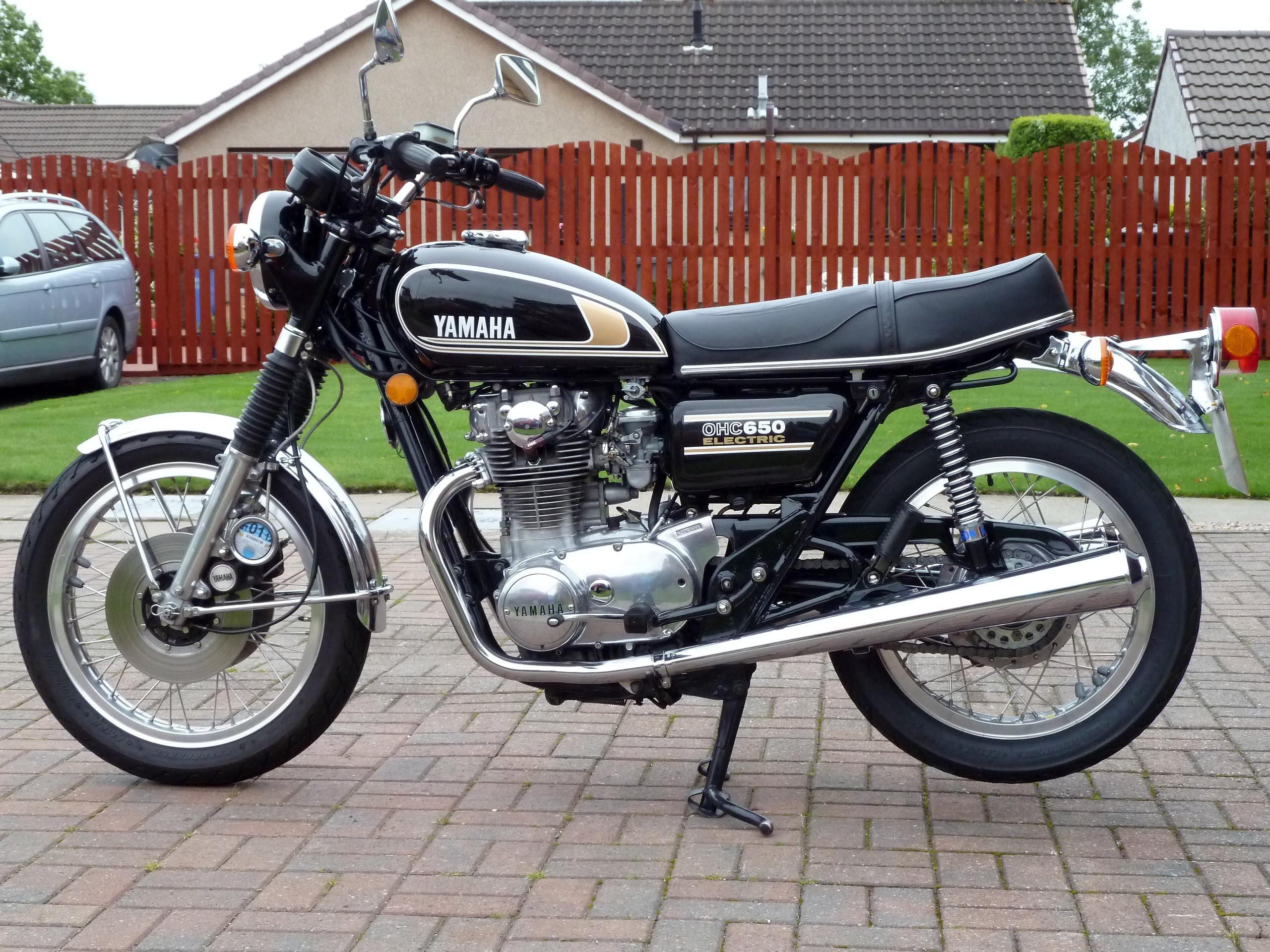 Yamaha Xs650b 1975 From Peter Tait