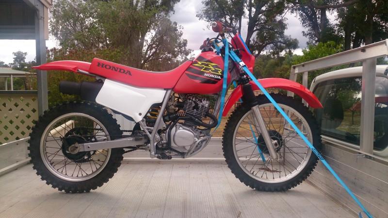 2000 Honda XR200
