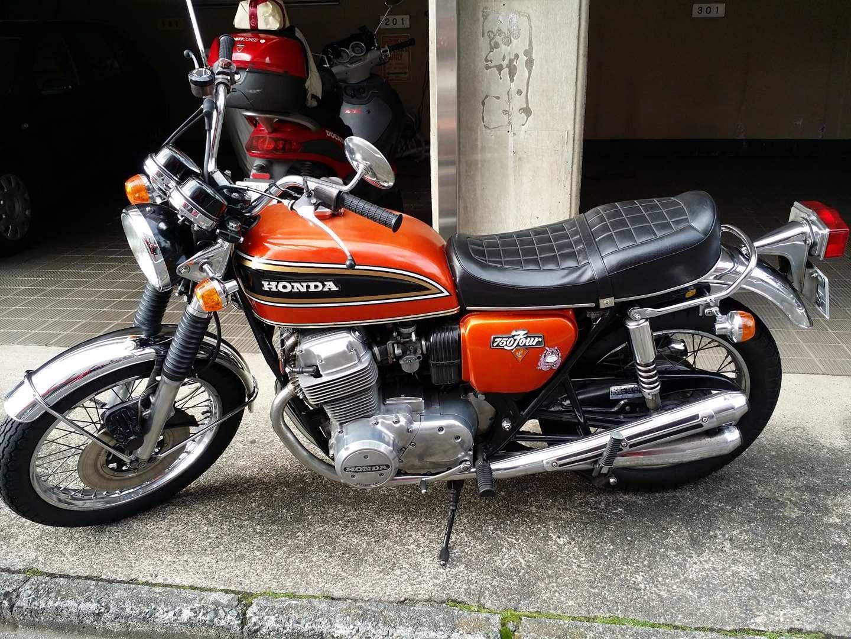 Honda Cb750 K3 1972