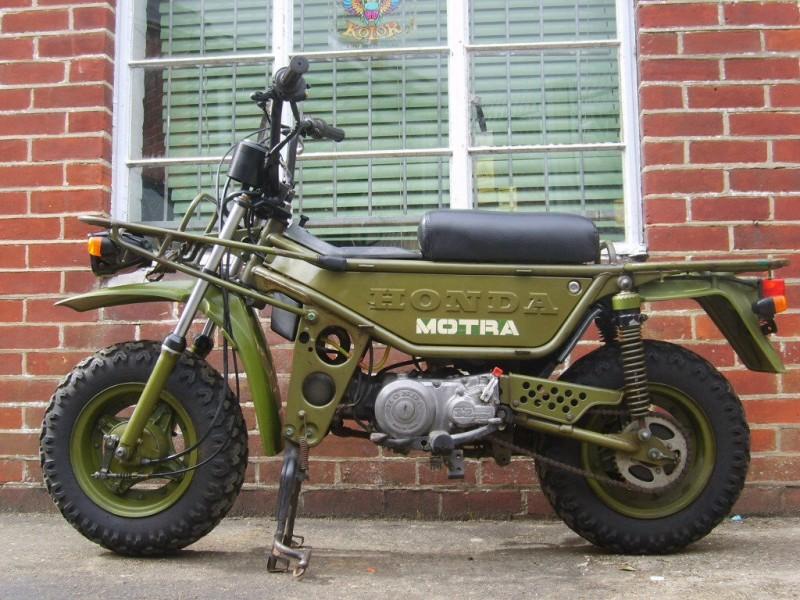 1980 Honda CT50J   MOTRA