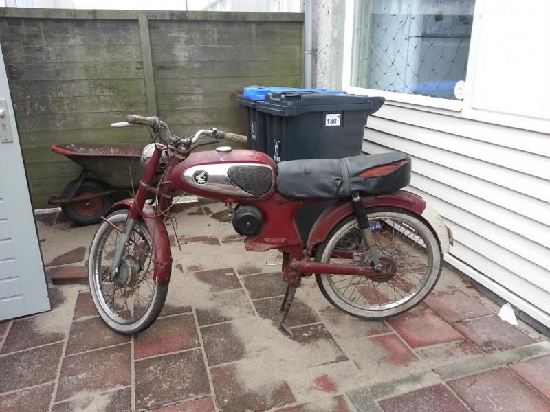 1965 Honda C320S