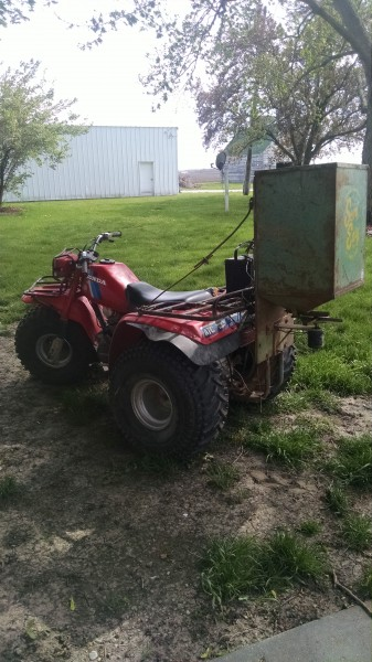1984 Honda ATC200ES BIG RED