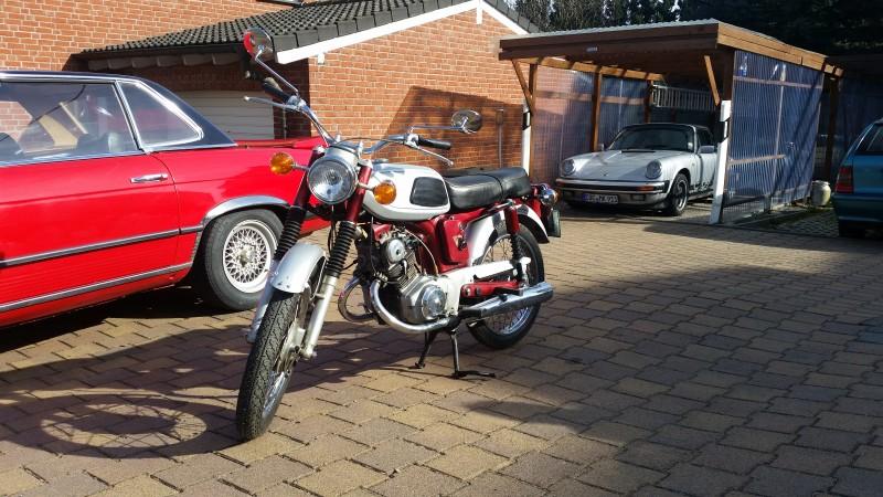 1967 Honda SS125A SUPER SPORT 125 1967 USA