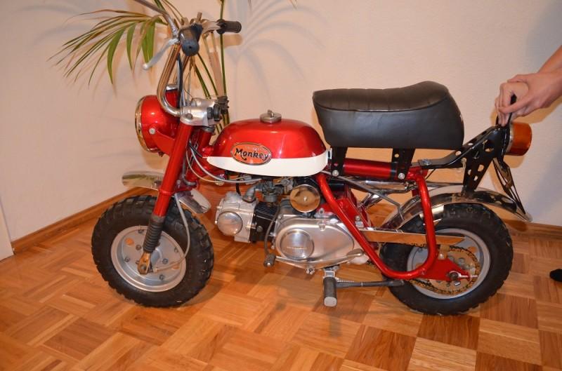 1971 Honda Z50A MINI TRAIL K2 USA
