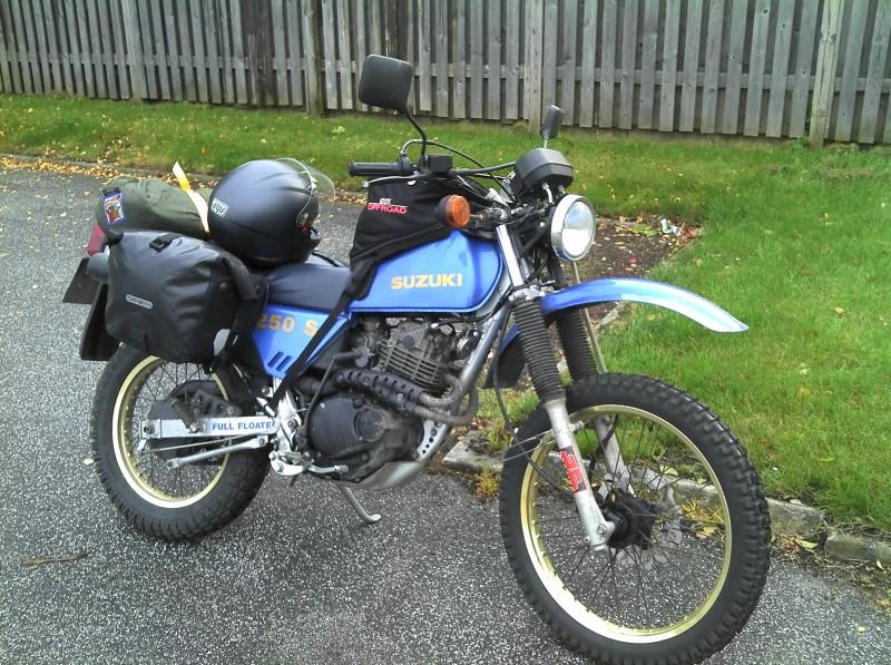 1987 Suzuki DR250 1987 SH