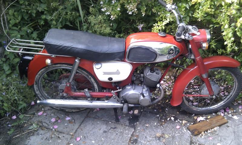 1967 Suzuki K10P