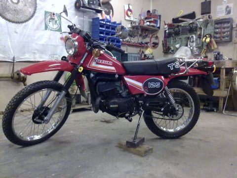 Suzuki ts 125 er 1984 from ts 125 er for Yamaha dealers in louisiana