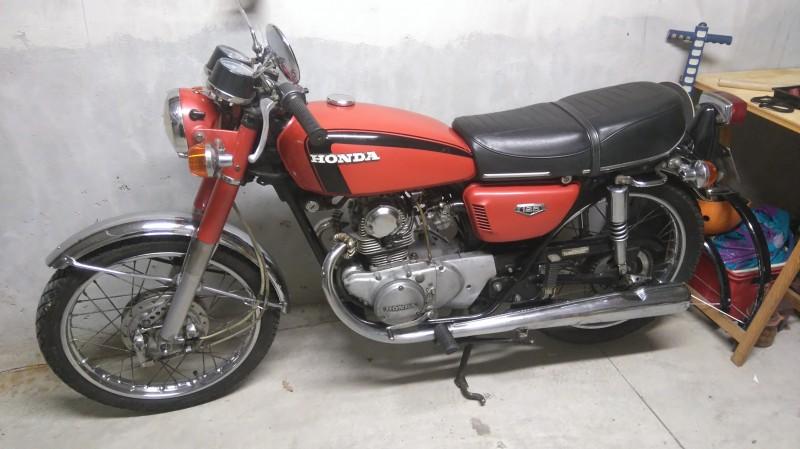 Honda cb125 cb93 general export information - Honda power equipment france ...