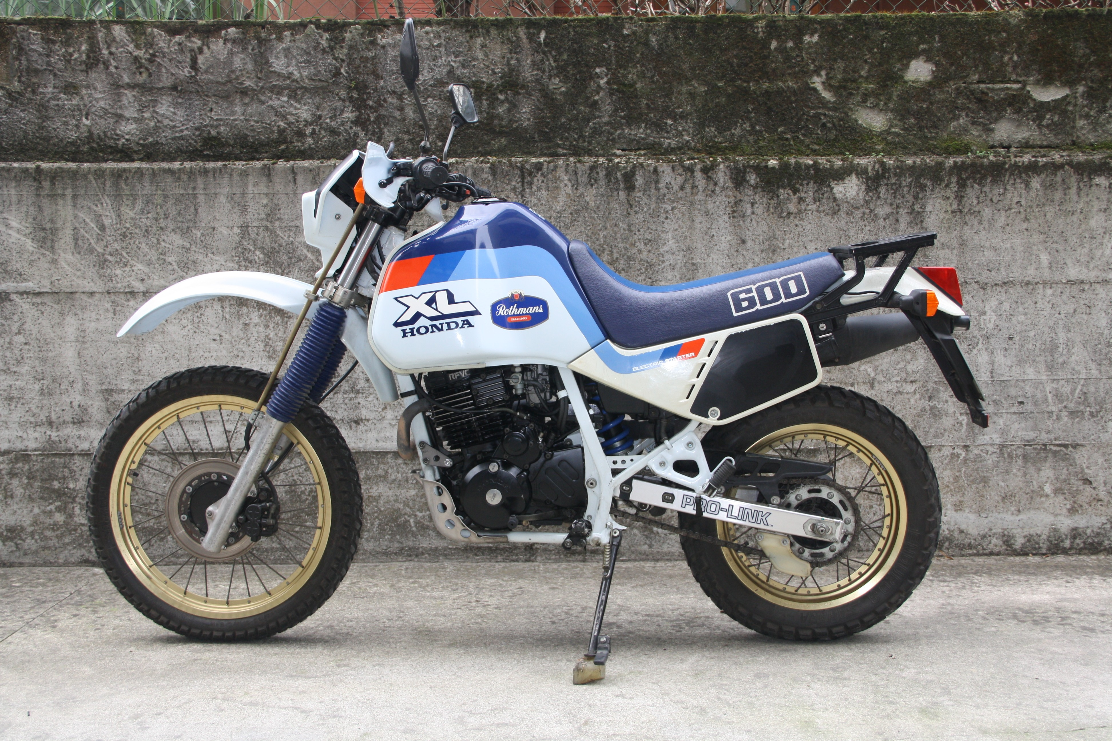 Honda Xl 600 Lm 1987 From Bradar