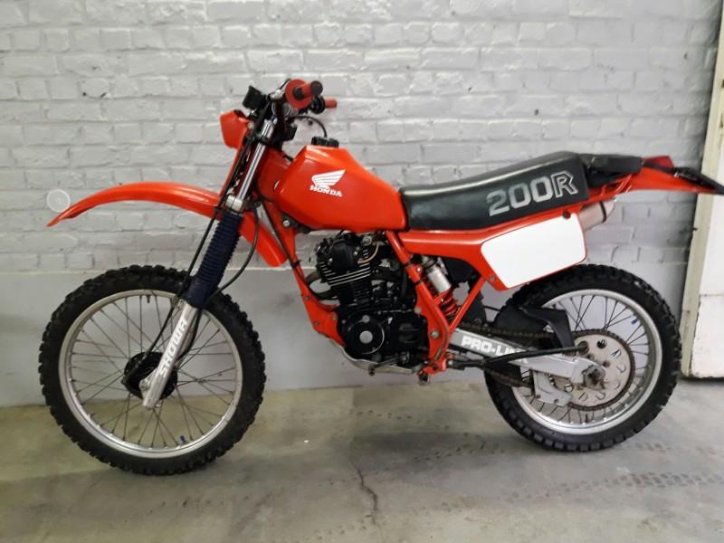 1982 Honda XR200R