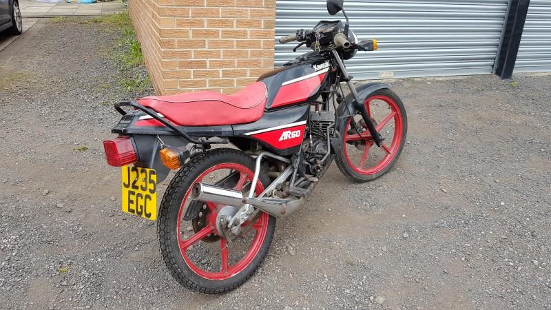 1991 Kawasaki AR50