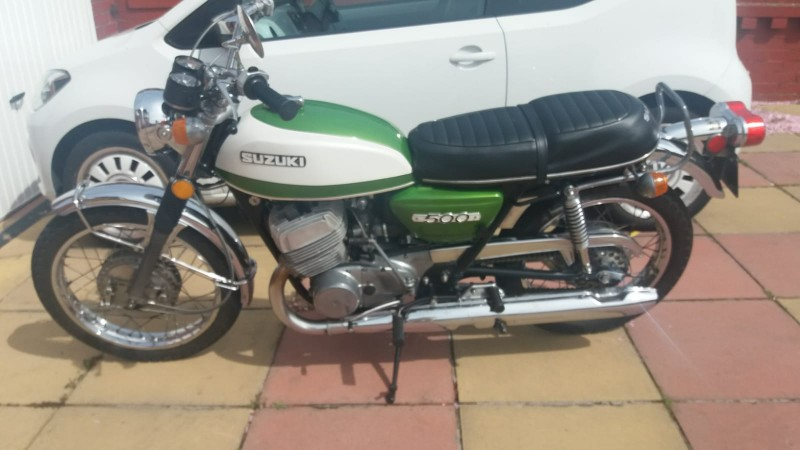 1971 Suzuki T500