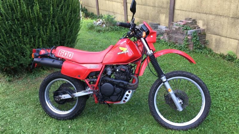 1986 Honda XL600R