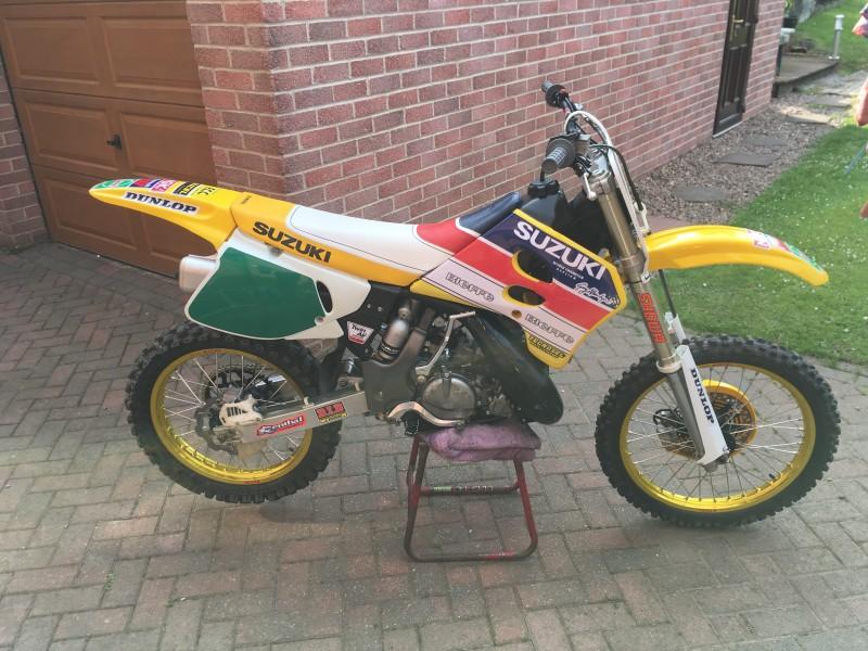 1994 Suzuki RM250 1994 R UK