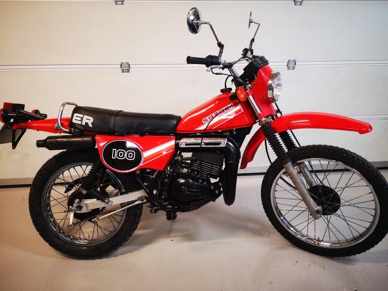 1981 Suzuki TS100ER
