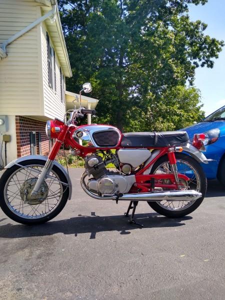 1969 Honda CB160