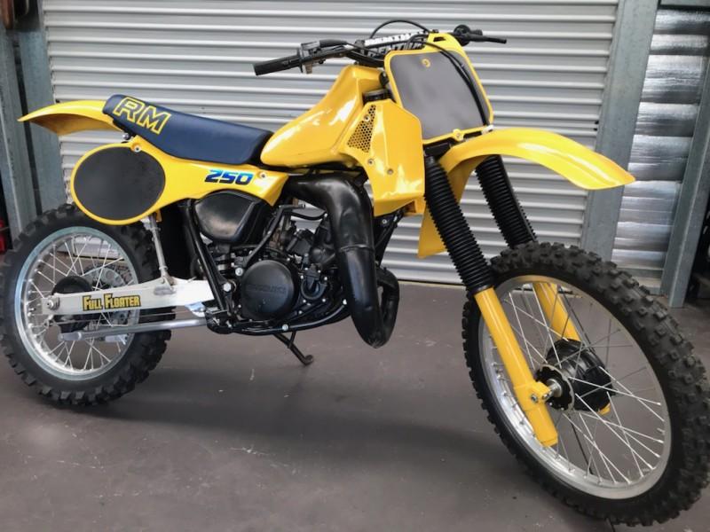 1983 Suzuki RM250D