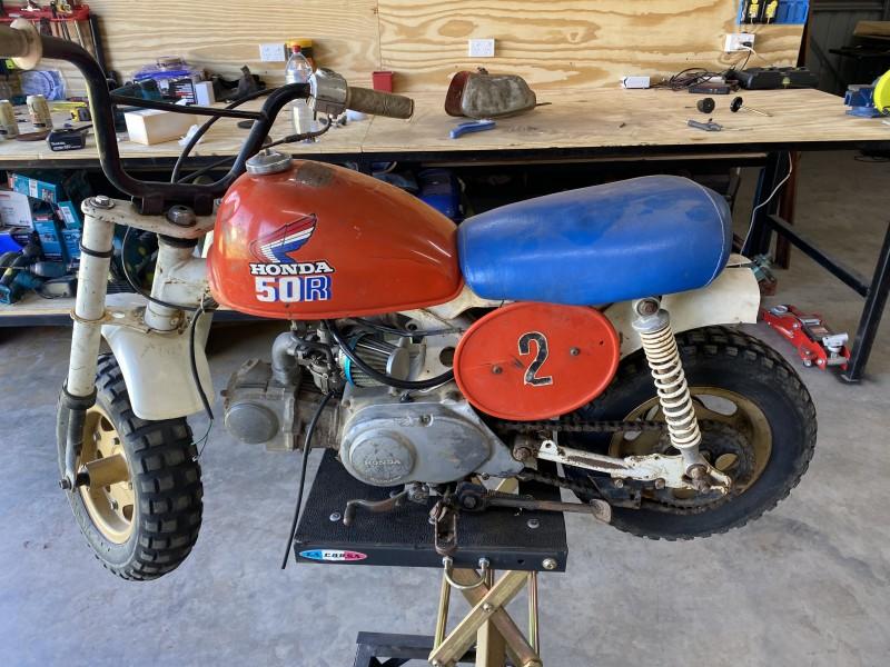 1987 Honda Z50
