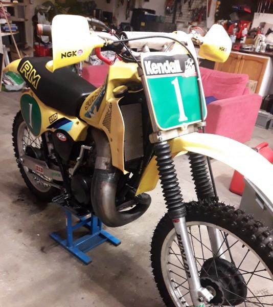 1982 Suzuki RM250