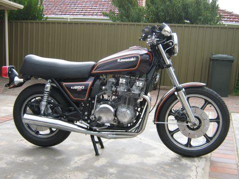 Kawasaki KZ650 SR D 1979 - from John Hanson