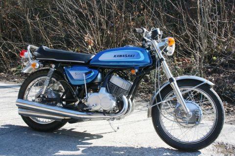 Kawasaki 500 H1 MACH 3 1971 - from Kawasaki Triple