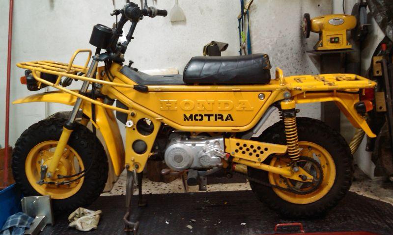 1983 Honda CT50J JAPAN MOTRA