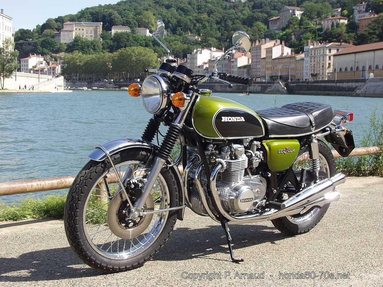 honda cb 500 four k1 1974   from patrick arnaud