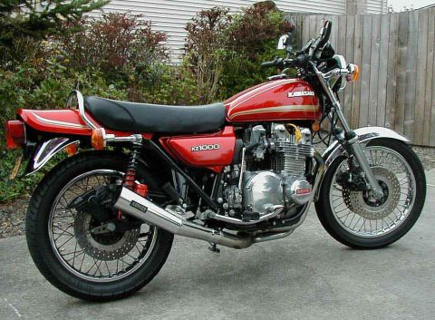 Kawasaki KZ1000 A2 1978 - from Mark Jones