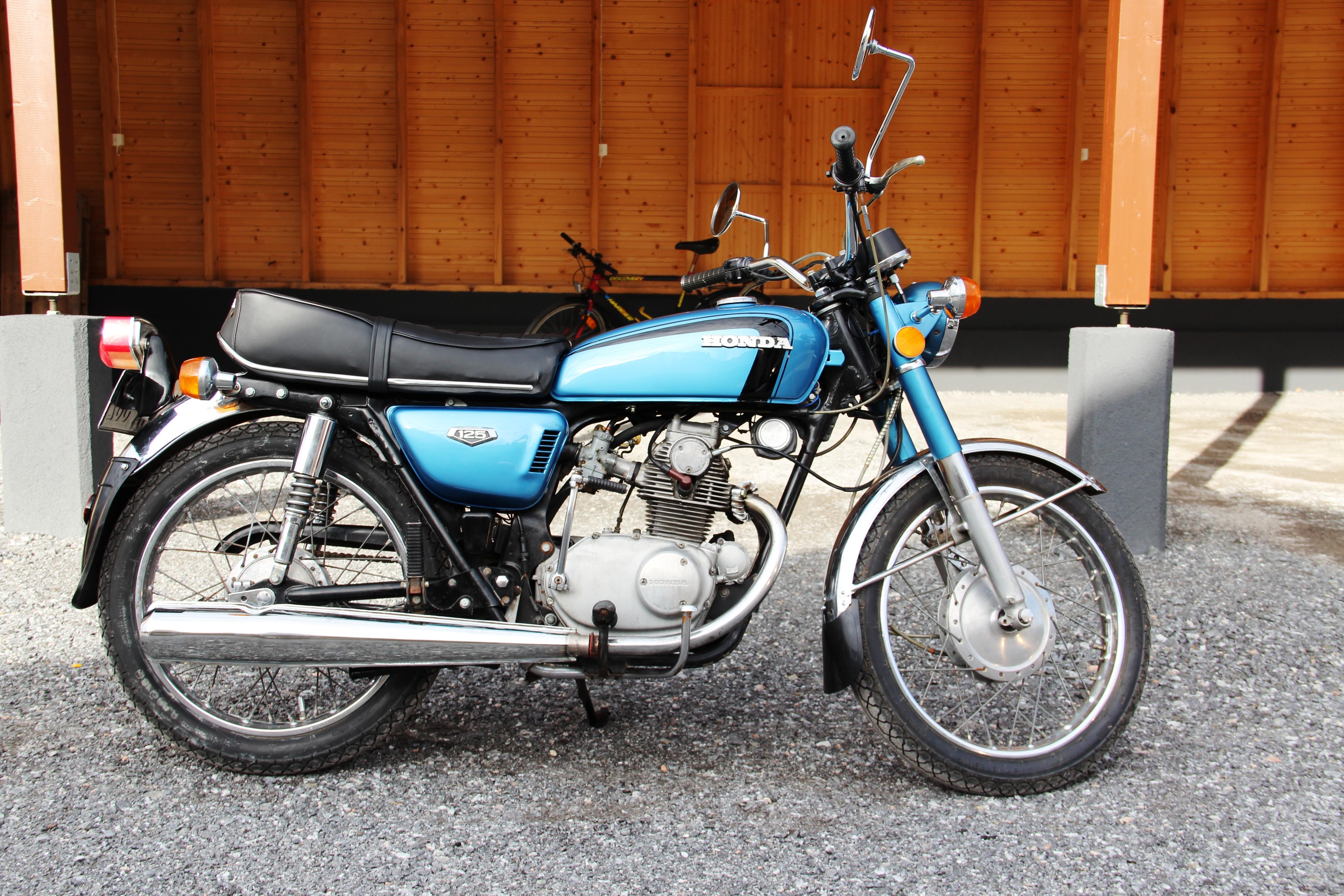 Honda cb 125 k5 1972 from ville kuohuva for Honda owner login