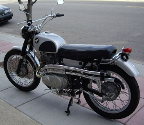 305 Honda Scrambler for Sale http://www.cmsnl.com/community/vehicles/Honda/CL77_305_SCRAMBLER/1966/785.html