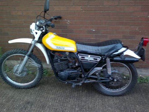 Yamaha dt 250 enduro 1976 from cartman for Yamaha dt 250 for sale