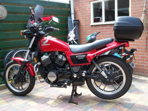 Honda vt 500 fte ascot 1984 from sjerp broersma for Yamaha dealers in vt