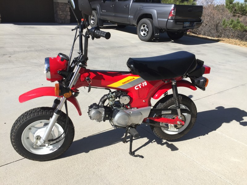 1991 Honda CT70
