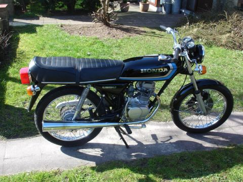 honda cb50j 1978 from foxbeach. Black Bedroom Furniture Sets. Home Design Ideas