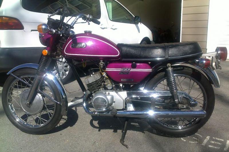 1971 Yamaha CS3 B 200CC
