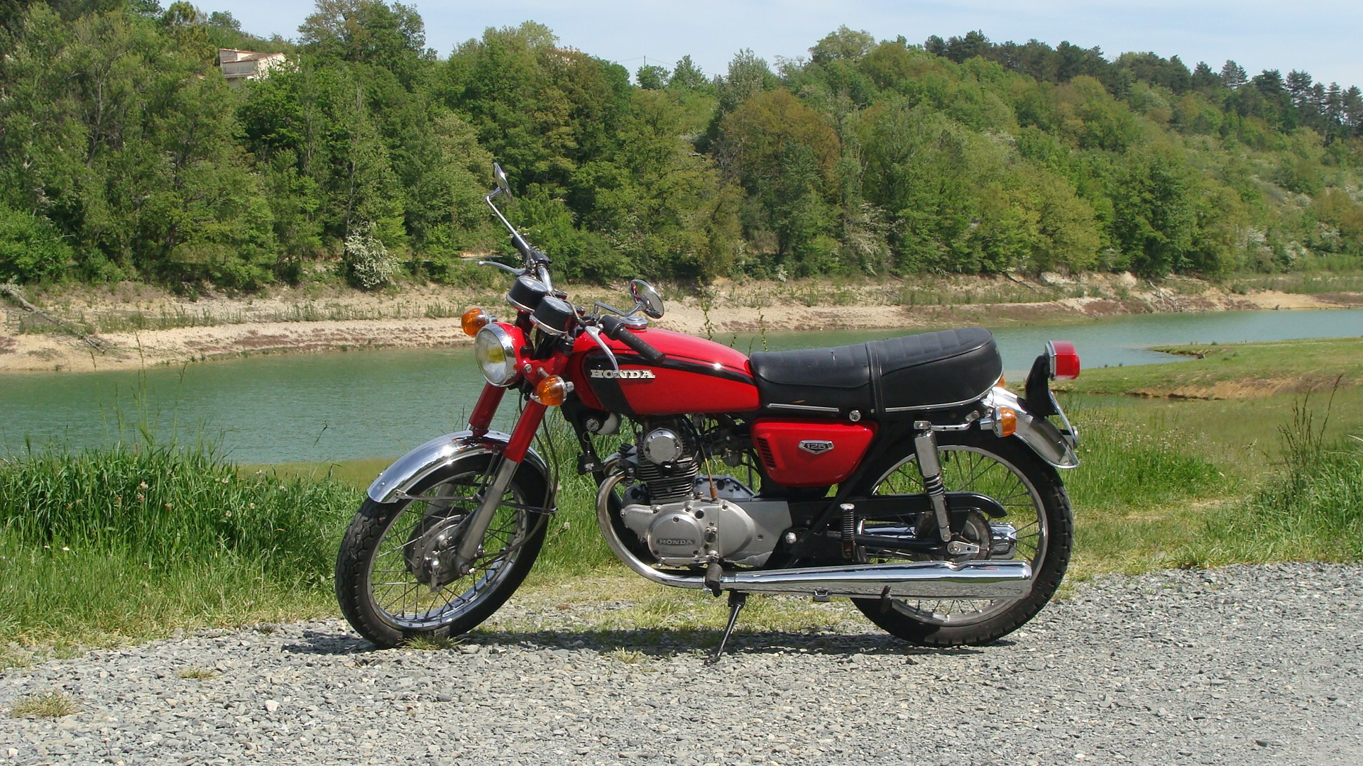 Honda cb125k5 france 1974 from maurice monmayran - Honda power equipment france ...
