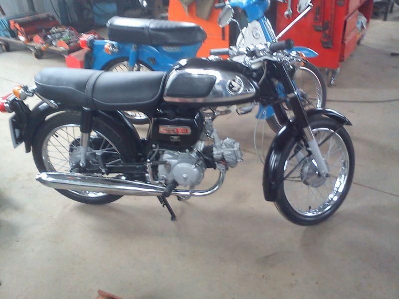 1972 Honda CD90Z