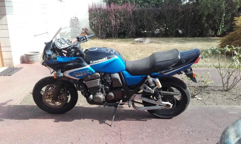 2003 Kawasaki ZR1200-B3P ZRX1200S