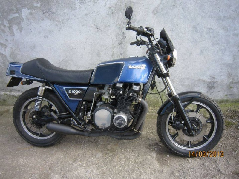1979 Kawasaki Z1000ST