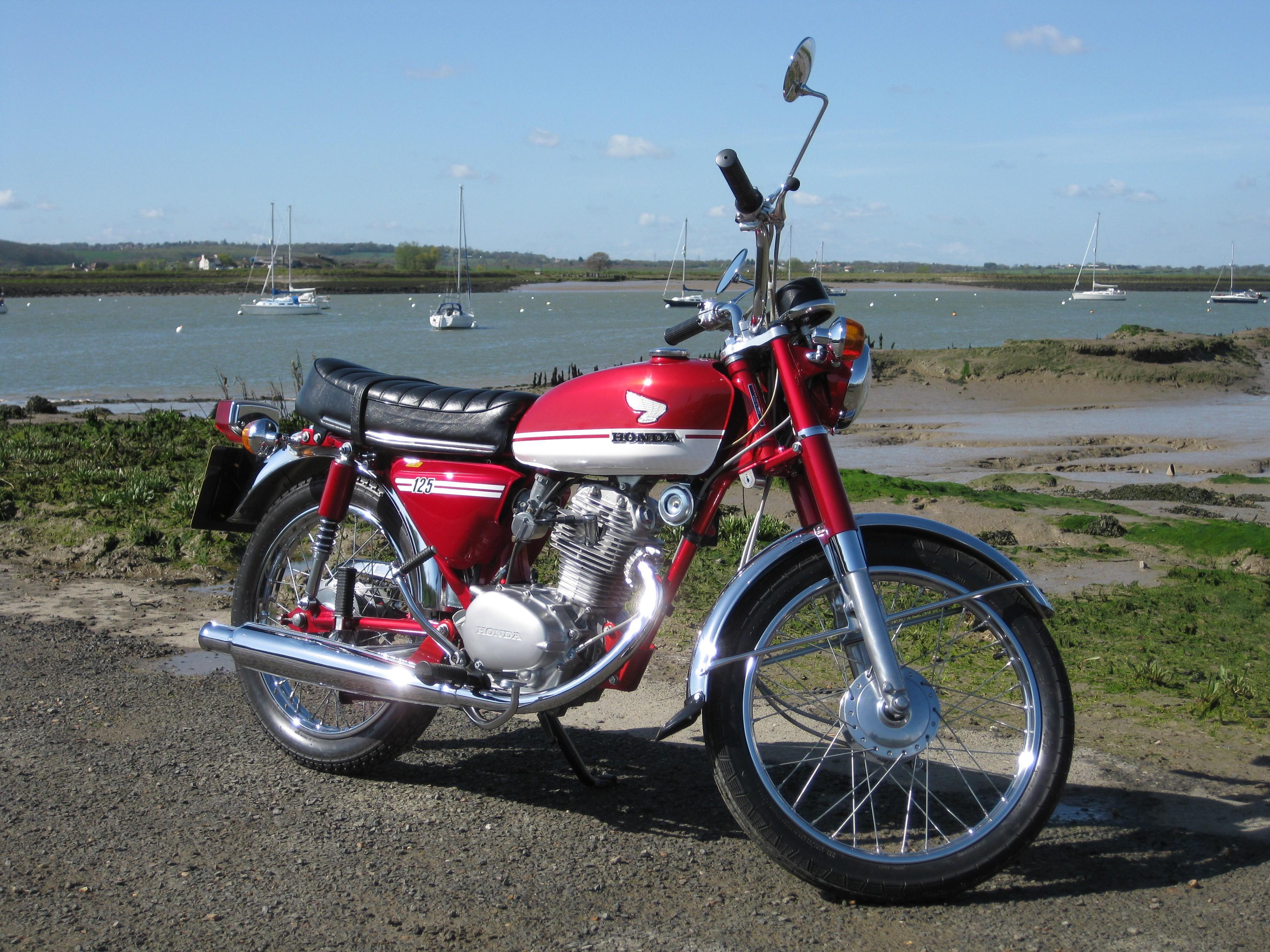 Honda cb125s 1973 from dubs for Honda owner login
