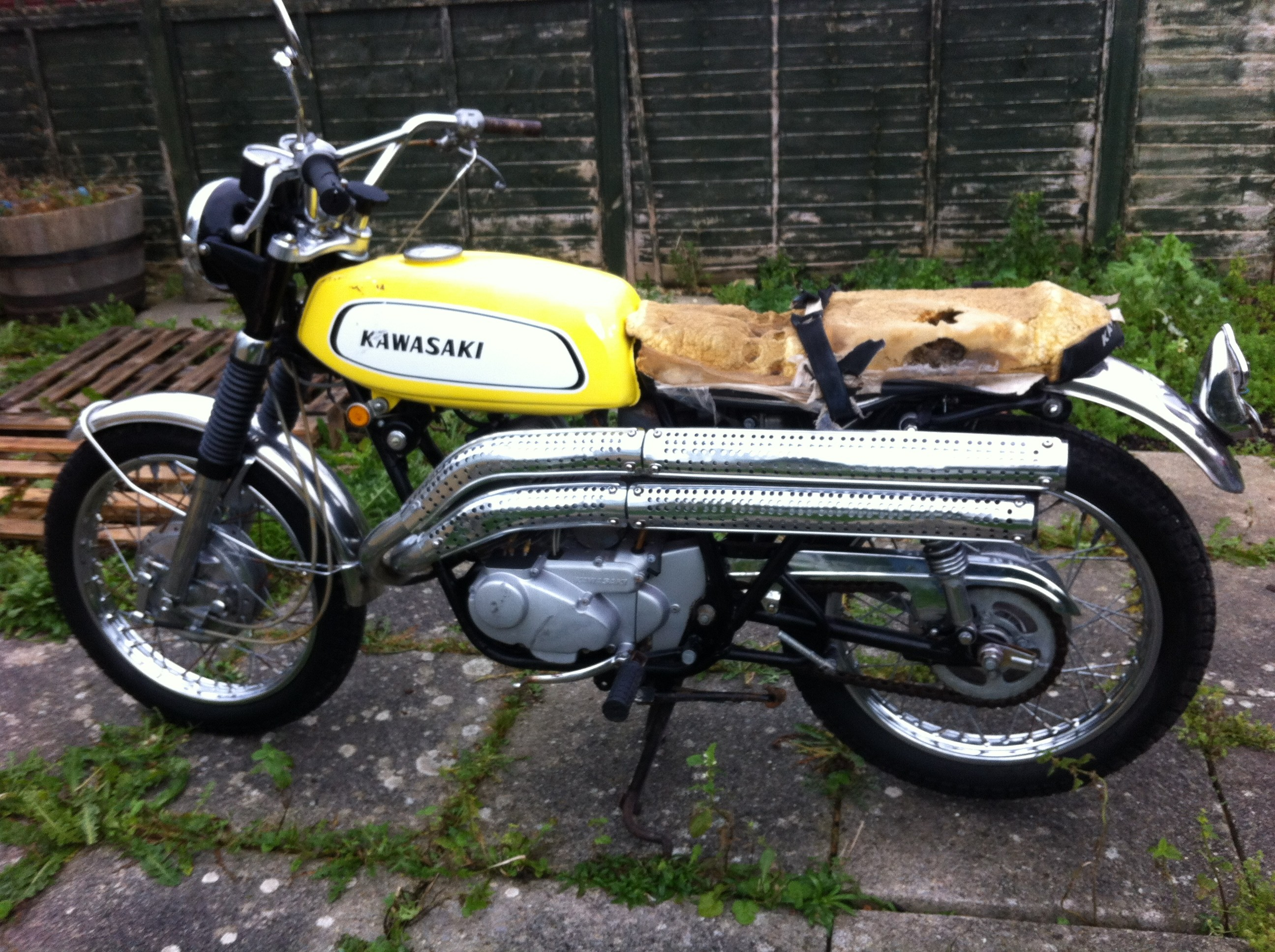 Kawasaki A1ss A 1970 From Rob