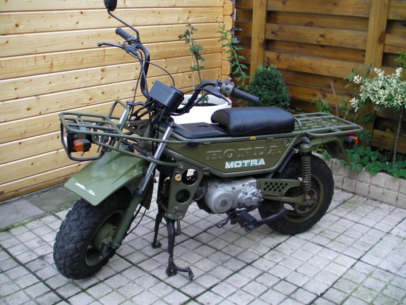 Honda CT50 MOTRA information