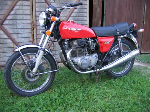 honda cb 250 g5 1975 from gmh. Black Bedroom Furniture Sets. Home Design Ideas