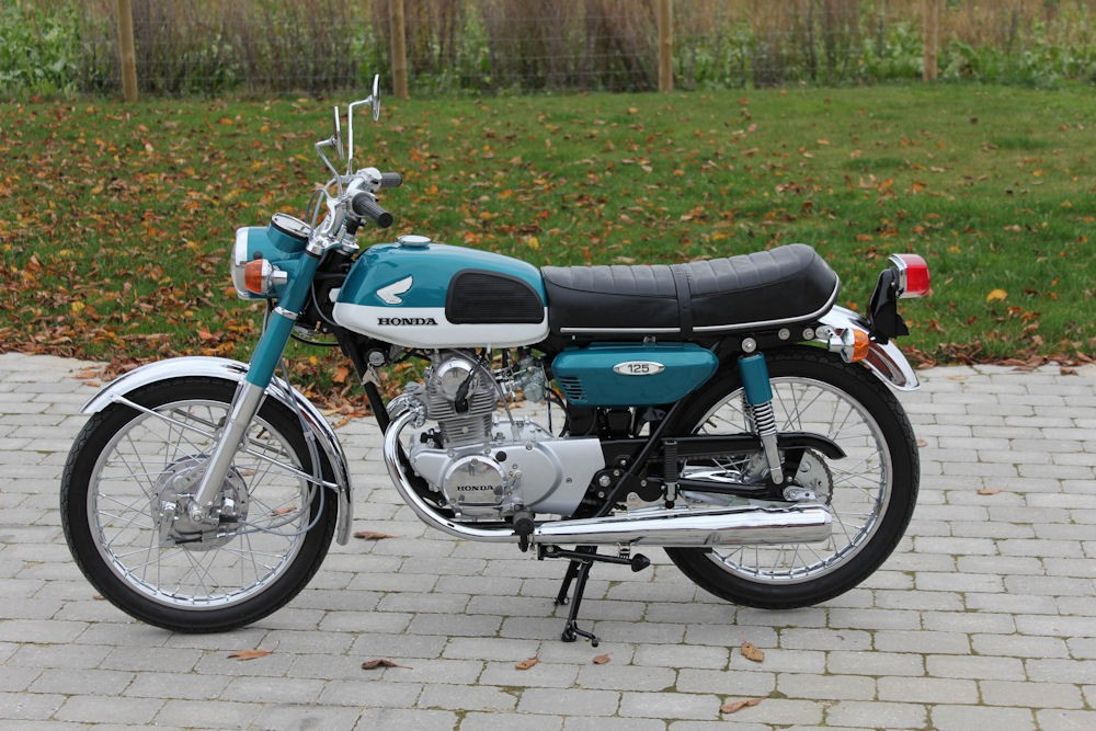 Honda Cb550 For Sale >> Honda cb125-super-sport-k3 1971 - from Michael/pernille Joergensen