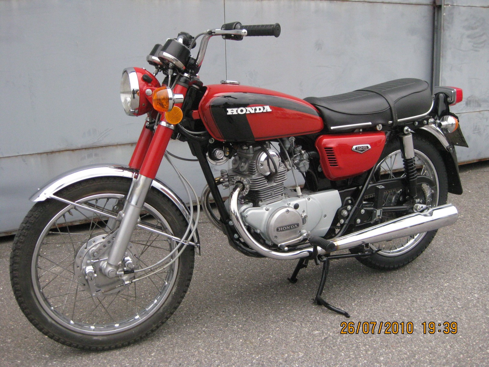 Honda cb 125 k5 1973 from haba