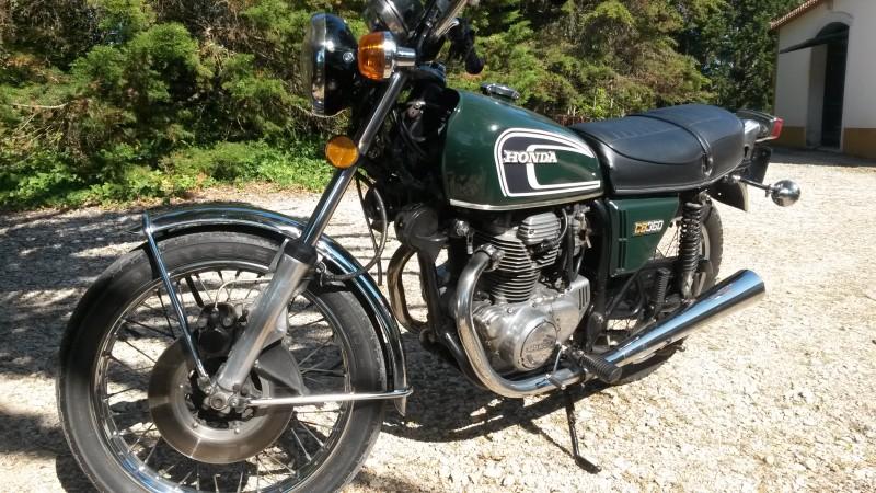 1976 Honda CB360